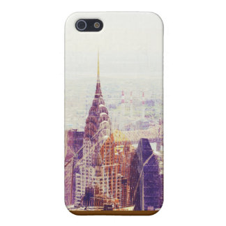New york City skyline with skyscrapers iPhone SE/5/5s Case