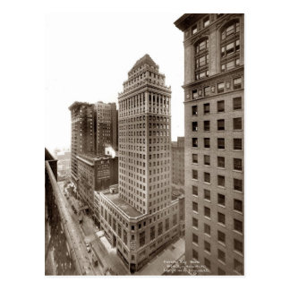 New York City Skyscapers Postcard