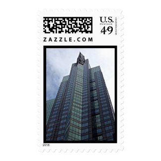 New York City Skyscraper Glass Building Stamps