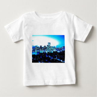 New York City Skyscrapers at Night Infant T-shirt