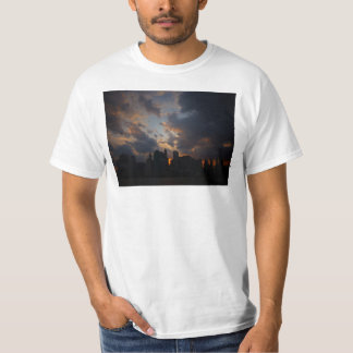 New York City Skyscrapers At Sunset T-Shirt