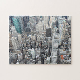 New York City skyscrapers from above Jigsaw Puzzle