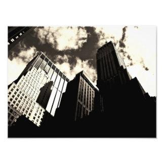 New York City Skyscrapers Photograph