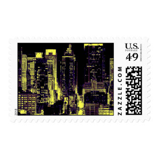 New York City Skyscrapers Postage