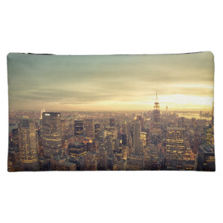 New York City Skyscrapers Skyline Cityscape Cosmetic Bags