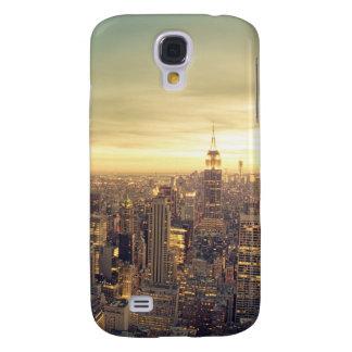 New York City Skyscrapers Skyline Cityscape Galaxy S4 Case
