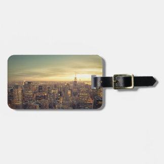 New York City Skyscrapers Skyline Cityscape Luggage Tag