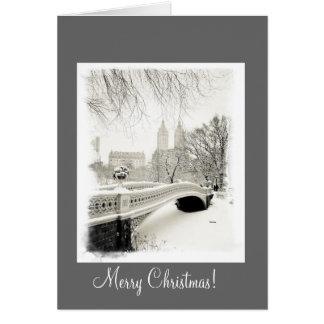 New York City Snow - Christmas Card