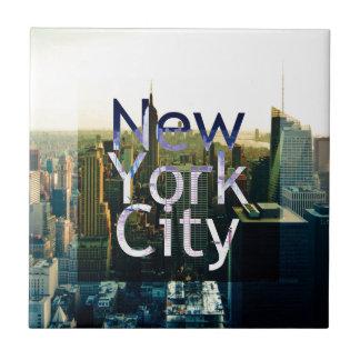 New York City Souvenir Ceramic Tile