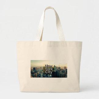 New York City Souvenir Large Tote Bag