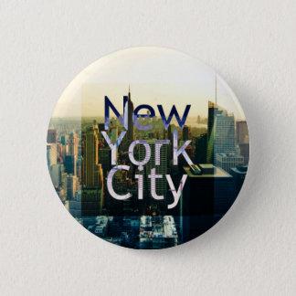 New York City Souvenir Pinback Button