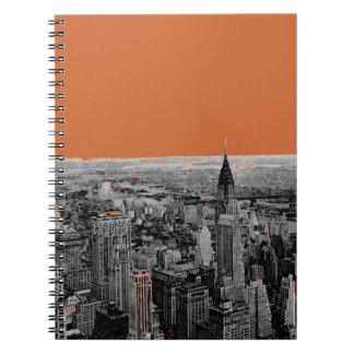 New York City Spiral Note Book