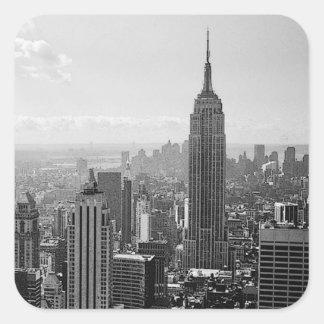 New York City Square Stickers