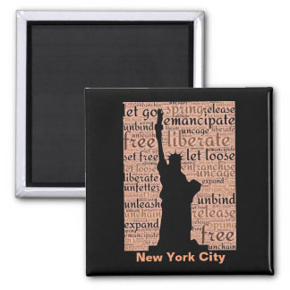New York City Statue of Liberty Magnet