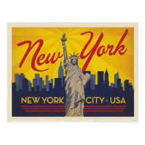 New York City | Statue of Liberty Postcard