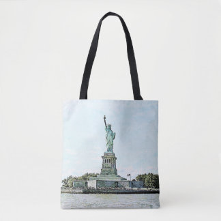 New York City - Statue of Liberty Tote Bag