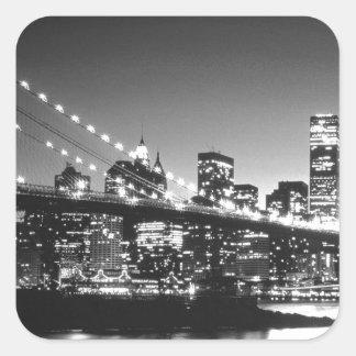 New York Cİty Square Stickers