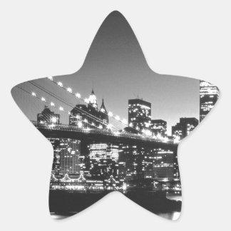New York Cİty Star Stickers