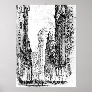 New York City Stock Exchange 1904 Poster