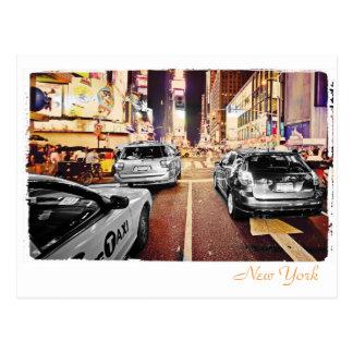 New York City Stree Postcard