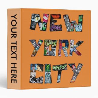 New York City Street Art Binder