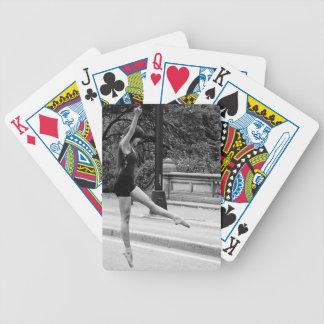 New York City Street Dancer Urban Photo Bicycle Playing Cards