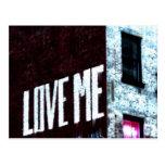 New York City Street Graffiti Photo Postcard