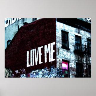 New York City Street Graffiti Photo Posters