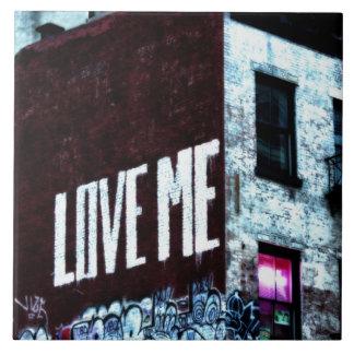 New York City Street Graffiti Photo Ceramic Tiles