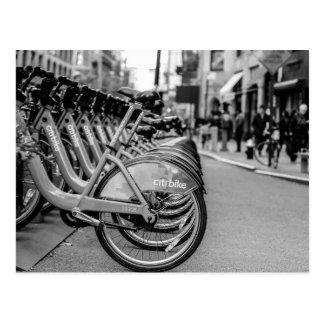 New York City Street Photo Postcard