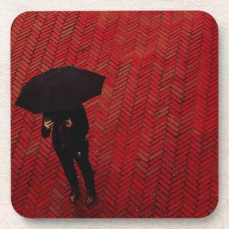 New York City Street Scene, Rainy Day Umbrella Coaster