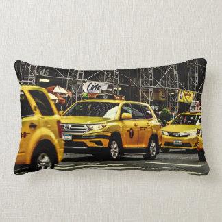 New York City Street Urban Photo Lumbar Pillow