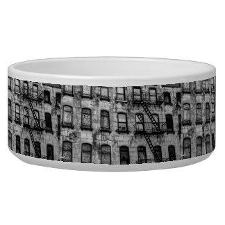 New York City Street Urban Photo Pet Food Bowl