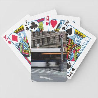 New York City Street Urban Photo Bicycle Playing Cards