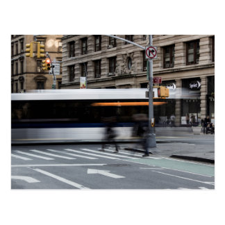 New York City Street Urban Photo Postcard