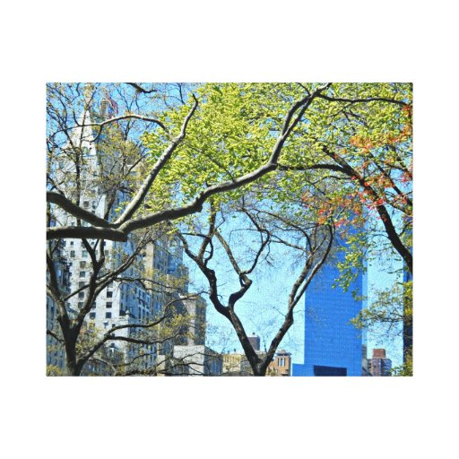 New York City Stretched Canvas Prints