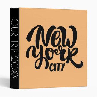 New York City Style Binder