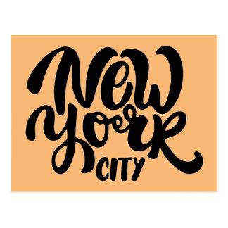 New York City Style Postcard