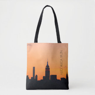 New York City Sunrise Tote Bag