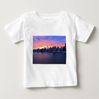 New York City Sunset Baby T-Shirt