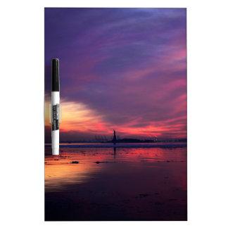 New York City Sunset Dry-Erase Whiteboard