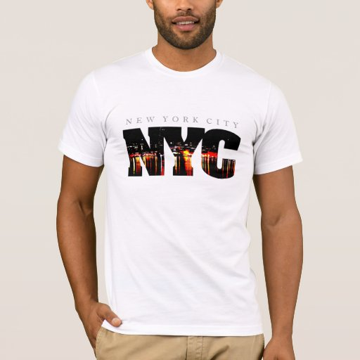 New york city t shirt zazzle for New york city tee shirts