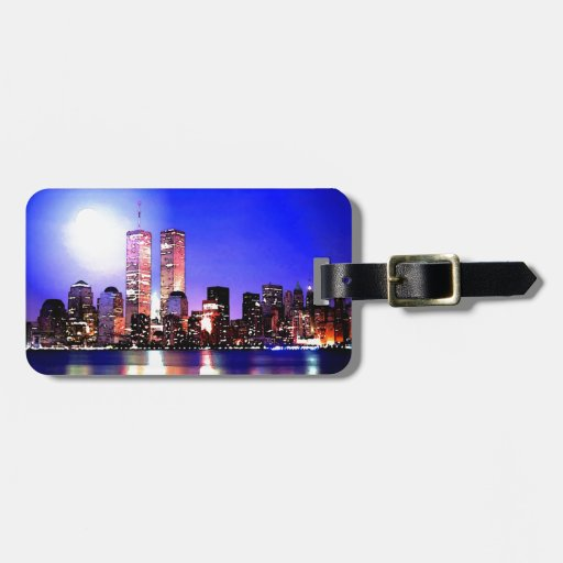 New York City Tags For Luggage