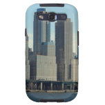 New York City Tall Buildings River View Galaxy S3 Covers