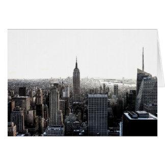 New York City Tarjeta De Felicitación