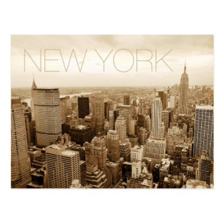 New York City Tarjeta Postal