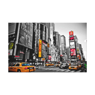"""""""New York City"""" Taxi Cabs City Hustle Wall Art"""