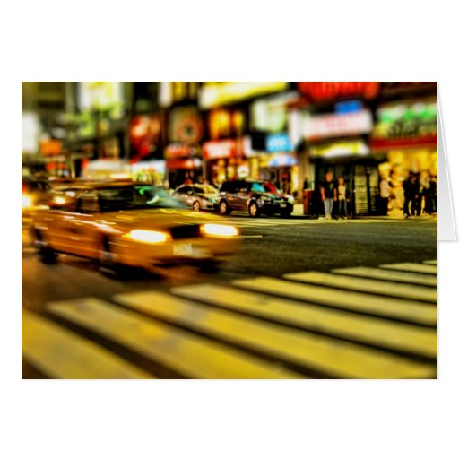 New York City Taxi Greeting Cards