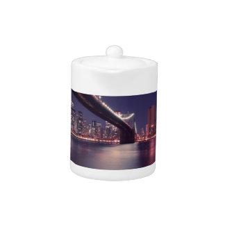 new-york-city teapot