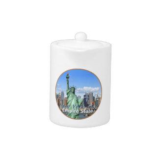 NEW YORK CITY TEAPOT